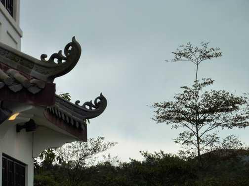 Nong Ping Temple Lantau Island Hong Kong