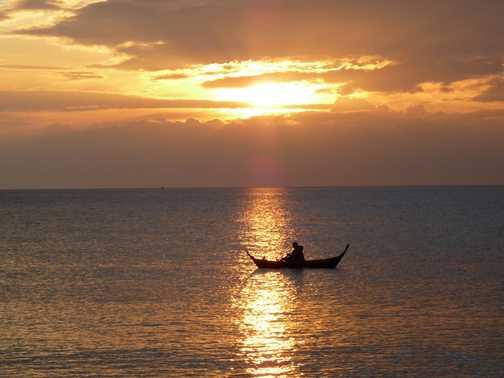 Fisherman's sunset, Ko Lanta