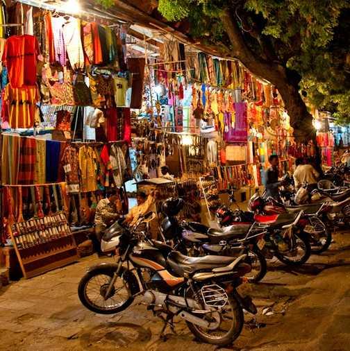 Night Bazaar, Jaipur