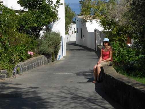 Tina in Stromboli