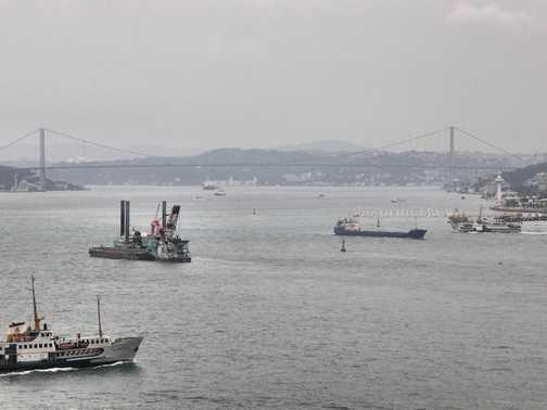Shipping on the Bosphorus