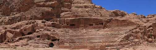 Amphitheatre panorama, Petra