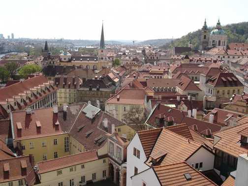 Rooftops - Prague, Czech Republic