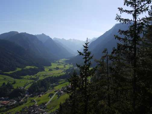 The Gschiztal from the Adlerblick