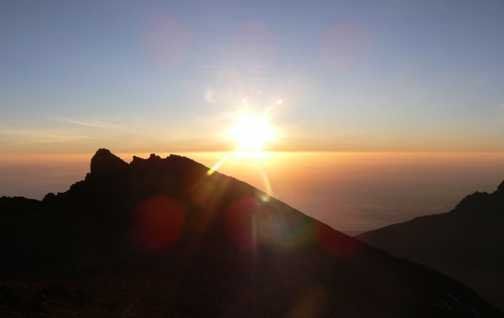 Sunrise over Stella