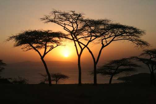 Ethiopian Sunset - Christmas 2007