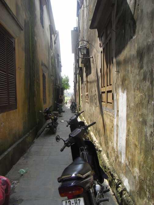 Paris street or the back blocks of Hoi An, Vietnam?