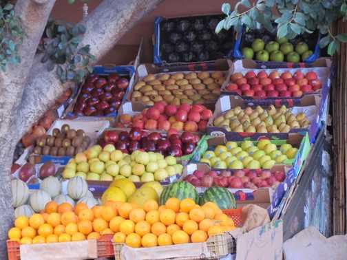 Fruit in Marrakech