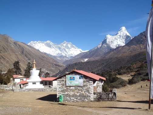 Tengboche, perhaps the most beautiful place on the planet