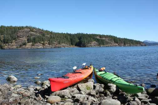 Optional sea kayaking