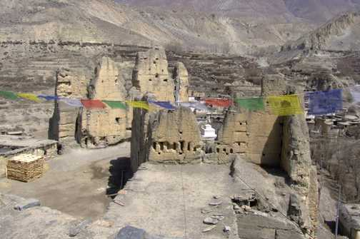 Ruins of castle-Jharkot
