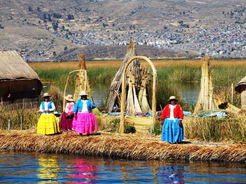 Floating Reed Island