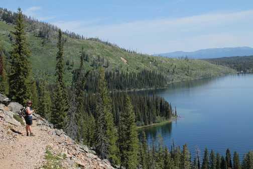 View of Jenny Lake, Teton NP