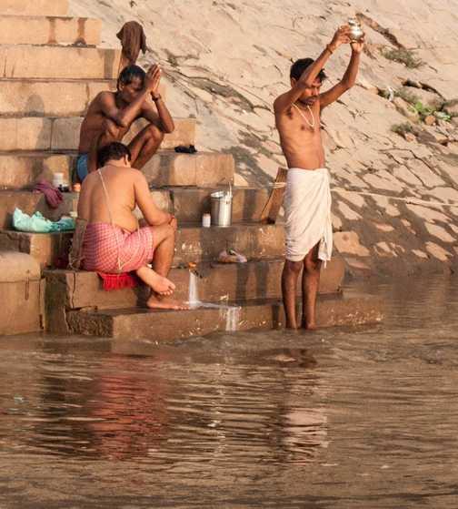 Bathing, Varanasi