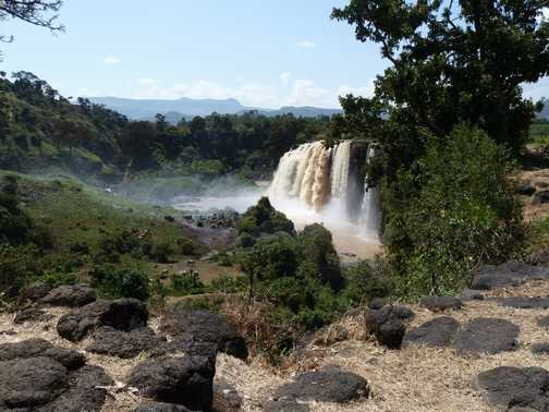 Tississat Falls
