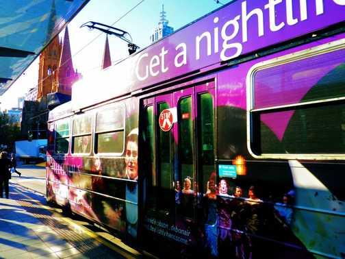 A Melbourne tram