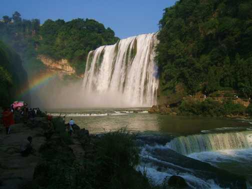 Huangguoshu waterfall, Guizhou province