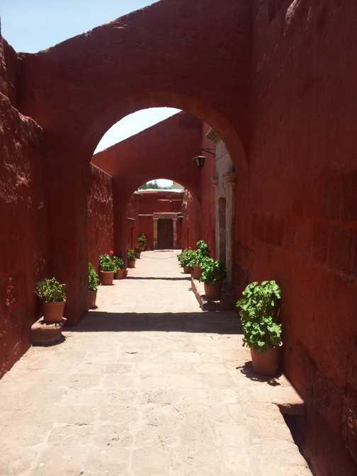 Santa Catalina Monestrey, Arequipa