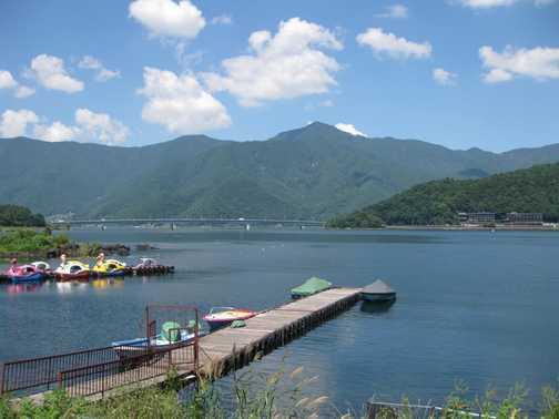 Lake Kawaguchi, Fuji Five Lakes area
