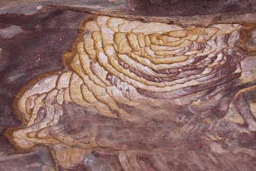 Rock pattern Petra