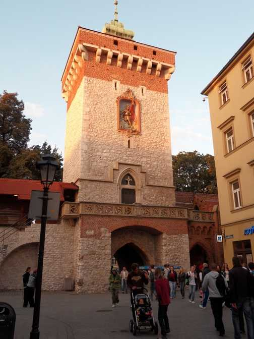 Krakow city wall