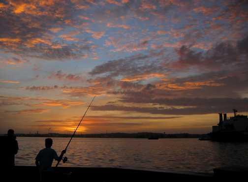 fishing havana bay