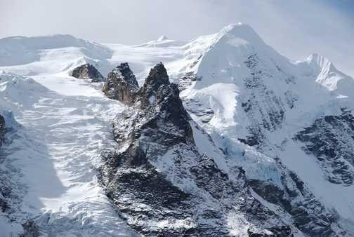 The glacier clos up