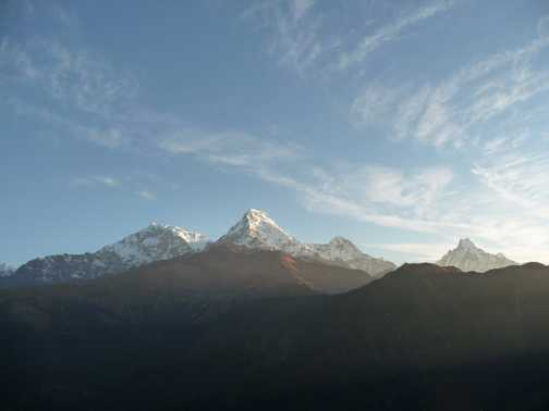 View from Poon Hill at dawn