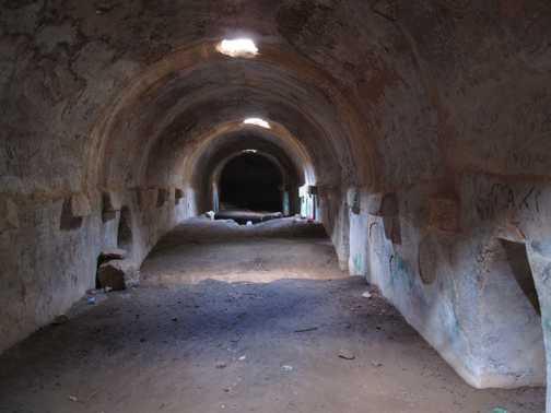 Ptolemais underground water channels