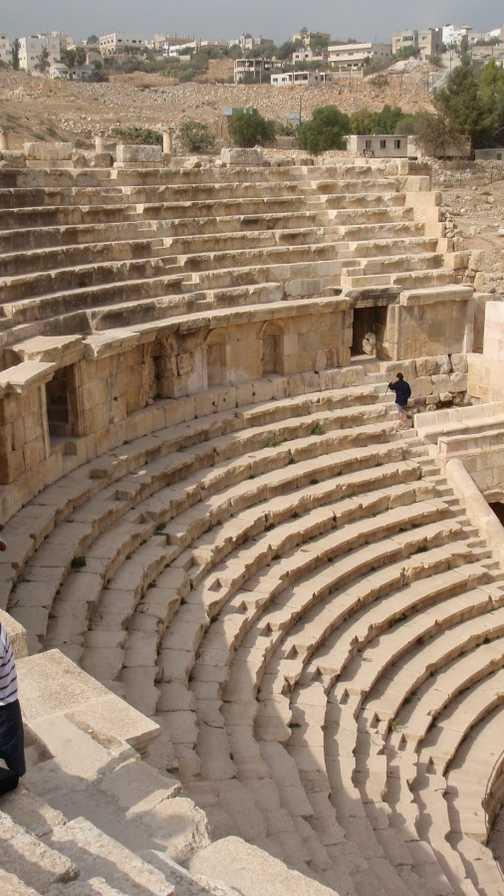 Roman theater, Jerash