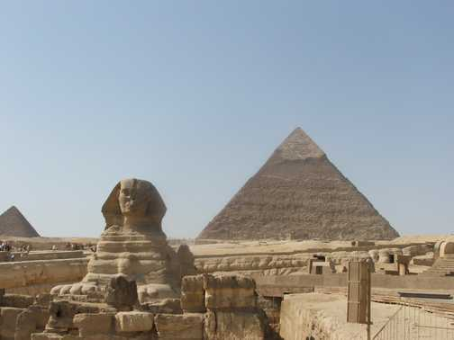 Pyramids and Spyhnx