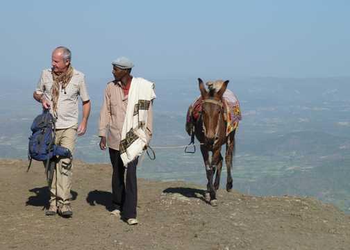 Mule trek to Asheton Maryam Monastery