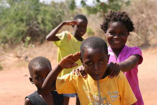 Children at the community school