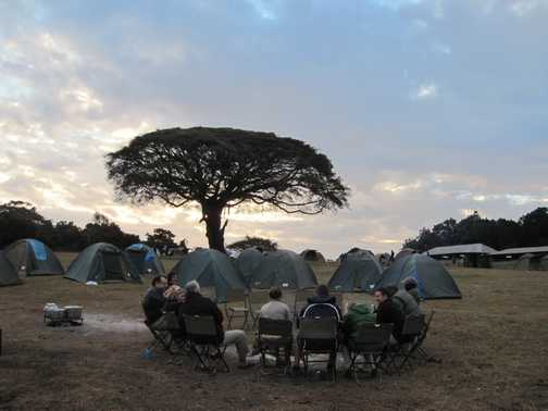 ngorogoro crater rim camp