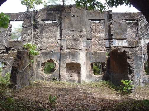 Slave fort on Bunce Island