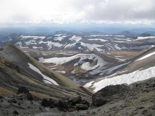 View from Mt Kerlingarfjöll