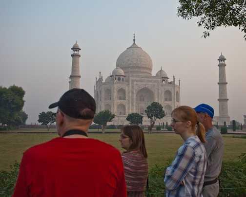 The majestic Taj Mahal, Agra