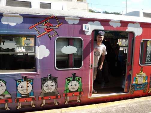 Thomas the tank engine train!
