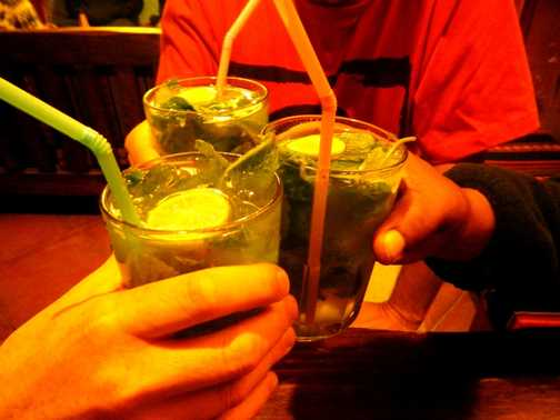 Mojito madness in Cusco and a flashback to a previous Exodus trip.