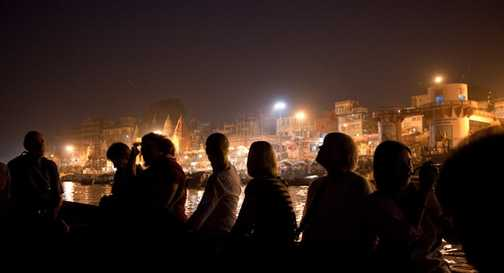 Celebrations on the River Ganges