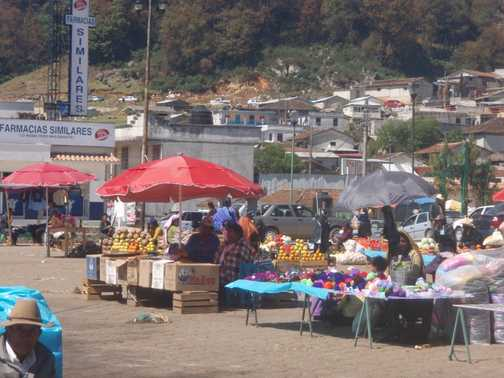 Local market San Cristobal