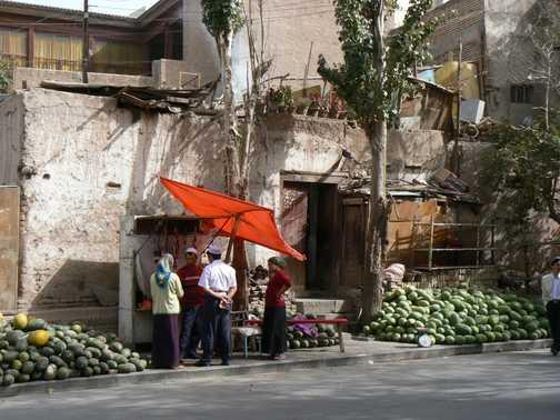 Melons in Kashgar