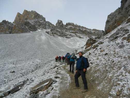 Ascending Thorong La