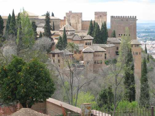The Alhambra from Generallife