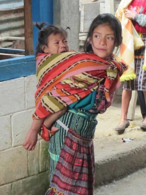 Mayan girl in Guatemala