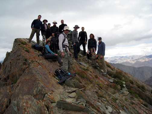 On 'Exodus Peak' 5046m