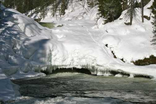 Rapids Ice Bridge
