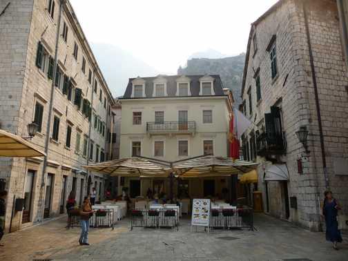 A square in Kotor