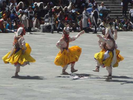 SCHAZAM CHAM (DANCE OF THE FOUR STAGES) - THIMPHU FESTIVAL