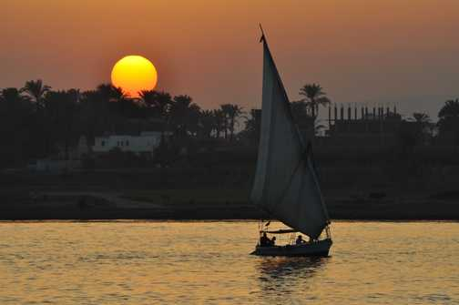 Sunset on the Nile2
